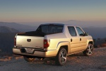 2013 Honda Ridgeline in Alabaster Silver Metallic - Static Rear Right Three-quarter View